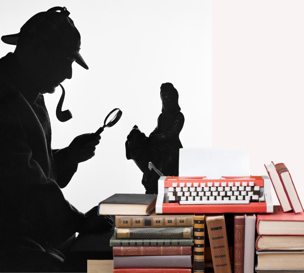 Detective en la novela negra-policíaca